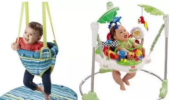贾静雯女儿咘咘玩跳床萌翻了,但跳床真的对宝