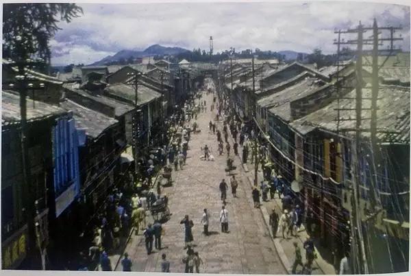 抗战时期老照片,解放前中国纯真得像 天空之城
