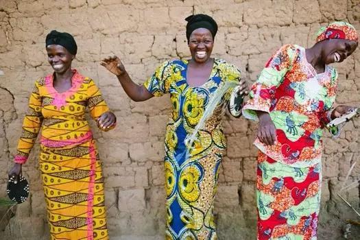 非洲服装图片