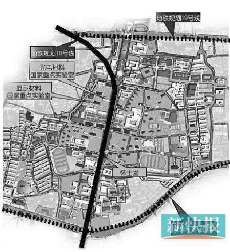 中大南校区中轴线为广东省文物爱护单元。CFP图