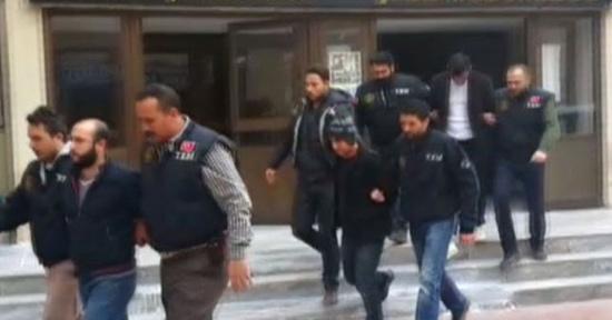 土耳其警方睁开反恐突袭步履,拘捕59人。(网页截图)
