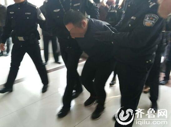 1月8日晚间发生在济南的入室抢劫命案告破。(齐鲁网记者 张伟)