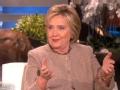 《艾伦秀第13季片花》S13E78 希拉里述不参选总统原因  曝唱歌被嫌弃