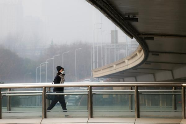 上海再发霾预警污染将持续至周六夜间