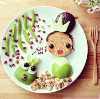 几个简单的果盘制作 让宝宝爱上水果