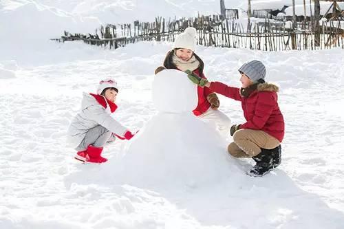 正文瀑布v正文+打雪仗+堆母婴+狗拉魔方+马拉冰河+看教程爬犁+游雪人爬犁第六步图片