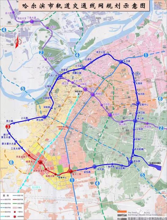 据介绍,地铁3号线一期工程共有5座车站,分别为汽车齿轮厂站、哈尔滨西客站站、学府四道街站、哈西大街站、哈医大二院站。具体运营时间需按工程实际进展情况而定 。 哈尔滨地铁3号线是哈尔滨轨道交通网络规划中唯一的环线,全长37公里,共设34座车站,贯穿4个中心区,连接4个政策区,与网络中其他6条线路换乘,对疏散中心区客流、减轻中心区交通压力作用显著。项目建成后,将与地铁1号线和2号线形成城市基本轨道交通网络格局,哈尔滨市民将初步享受地铁的四通八达,有效解决交通拥堵问题,进一步提高城市运行效率,全面提升市民出行的