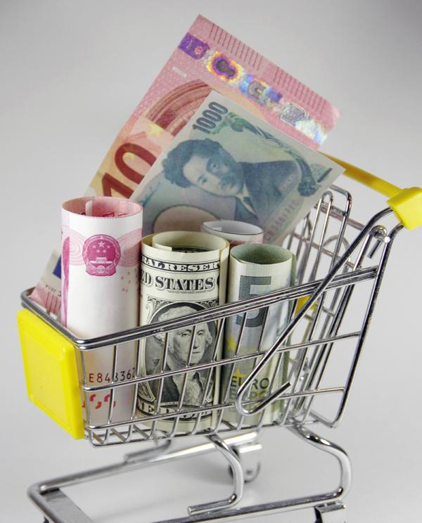 IMF发言人表示,人民币仍然处于纳入SDR的正确路线上。视觉中国 资料