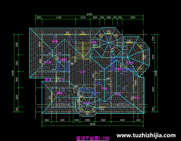 别墅图纸大全 推广农村新型结构体系