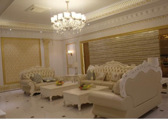 装修效果图,集成墙面可用于全屋不同空间的墙面的吊顶装饰,整体风格