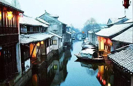 """中国最美的古镇?,唯美古风""""小桥流水人家,粉墙青瓦摇船,昆曲阿婆茶."""