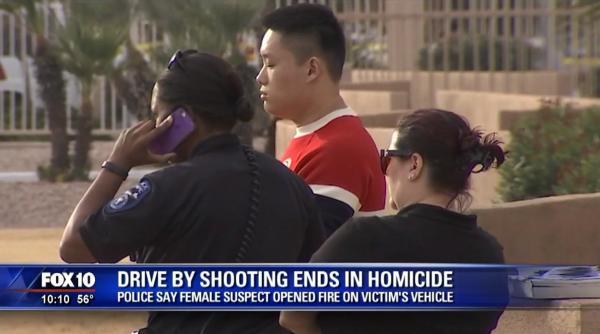 美国男子追尾19岁国家女留门生,再下车连开数枪致其殒命