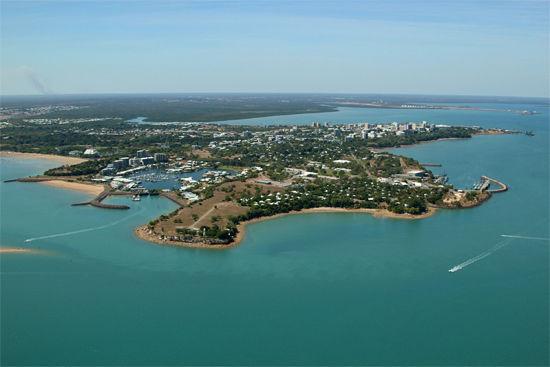 资料图:澳大利亚达尔文港。