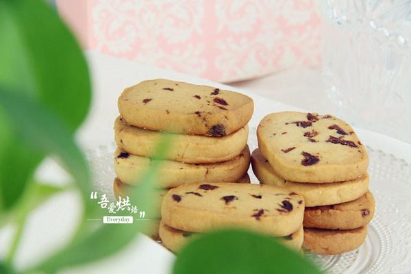 美食菜谱:百试不败的经典蔓越莓饼干