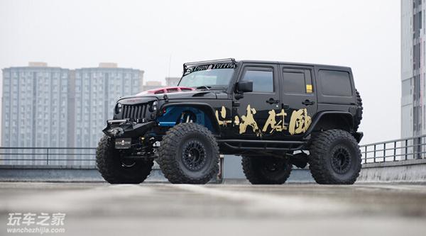 顶火操刀 Jeep牧马人改装高清图片