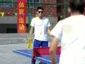 《闪亮的爸爸第一季片花》第七期 黄子韬手持拖鞋打乒乓球 潘玮柏遭逆袭手撕果盘