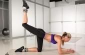 超模健身教练教你标准动作