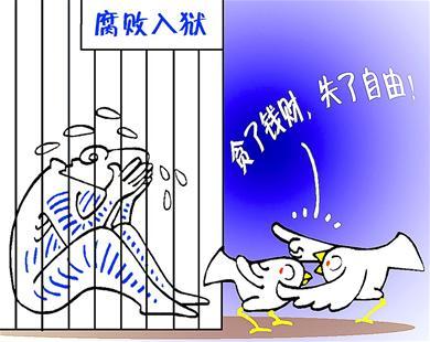 入狱雀鸟羡漫画(图)坦柯特飞贪官图片