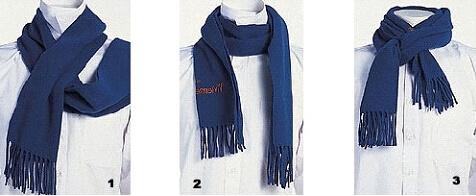 男生围巾的各种围法