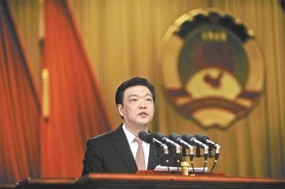 市政协主席吉林作常委会工作报告
