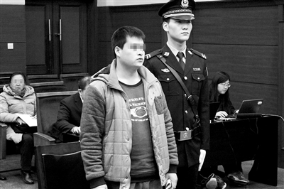图为原告人受审现场