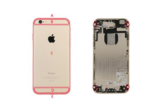 iphone4s gps天线_揭秘:iPhone 6/6S背部为啥有烦人的大白带(组图)-搜狐滚动