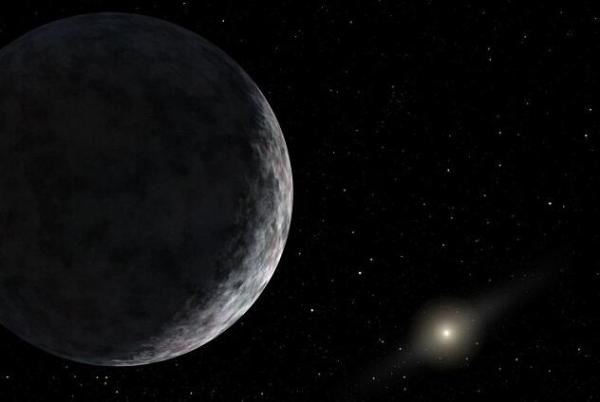 NASA模仿�D:在X行星上眺望太�