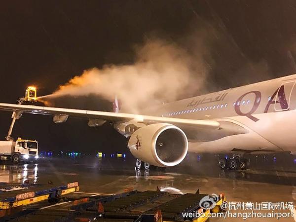 杭州�山世界�C�鼍植匡w�C需求除冰雪,�C�稣��w�\�D失常。