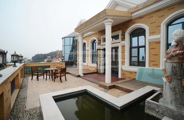 重庆独栋别墅装修设计效果图 南山500平大独栋别墅
