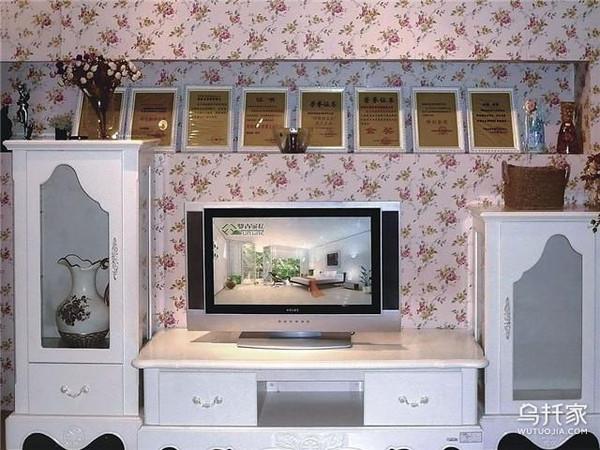 客厅电视柜上适合摆什么装饰品客厅花架图片