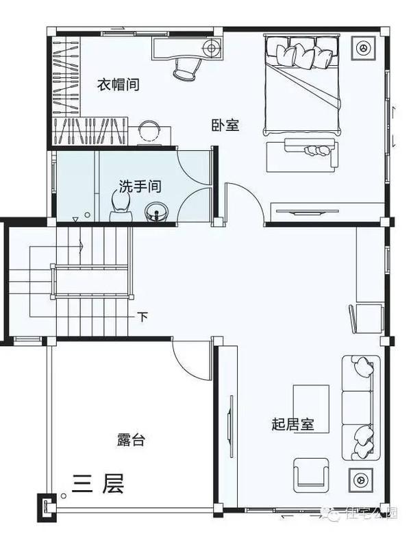 3层自建房 占地7米x10米 带露台 含平面图农村宅基地变得越来越小