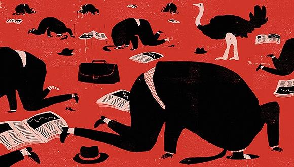"""故事反映出大部分投资者的现状——盲目跟风或忽略风险。在目前的市场中,类似""""村长""""的投资者很多,既无理财知识也无经验,仅仅是因为看到别人通过某种投资方式赚到了钱,便意图简单效仿,结果却事与愿违。"""