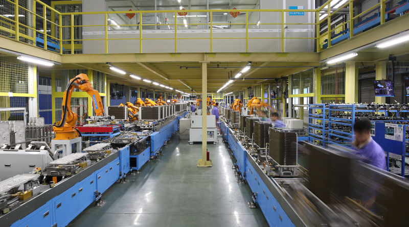 """美的空调""""机器换人"""":零件生产线希望无人化"""