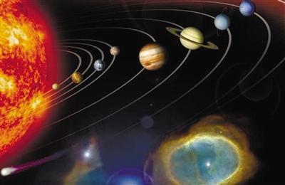 太阳系九大行星内容 太阳系九大行星版面设计图片