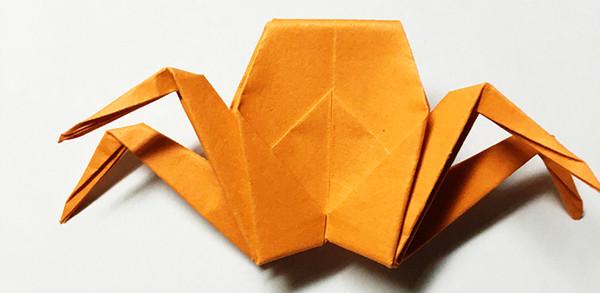 小螃蟹折纸图解教程