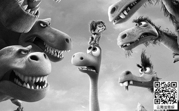 《好恐龙》讲述恐龙阿洛在原始人男孩点点的帮助下找到回家之路的故事。