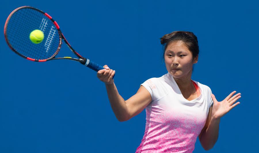 (赛艇)网球澳网青少年:任嘉琪晋级第光阳(图)二轮体育是进口车吗图片
