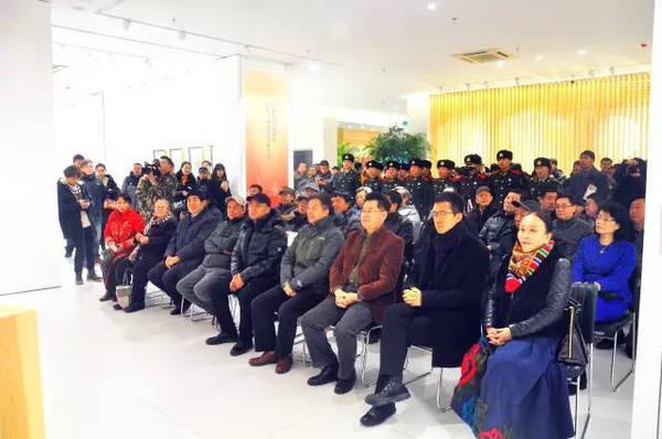 孙滋溪艺术作品展在烟台美术博物馆隆重开幕