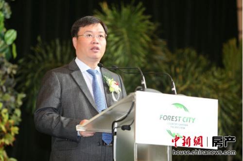 碧桂园集团总裁莫斌