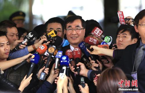 中国国民党秘书长李四川资料图 中新社记者 陈小愿 摄