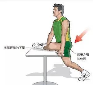 运动健身 图解20个跑后拉伸动作