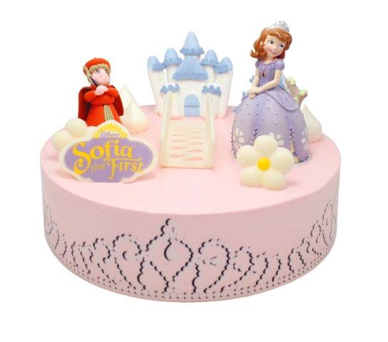 """小公主蛋糕实现小女孩""""公主梦""""的卡通蛋糕,小女孩肯定会爱上小公主"""