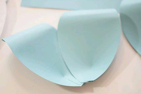 简单纸花的制作方法过程 手工纸花制作图解