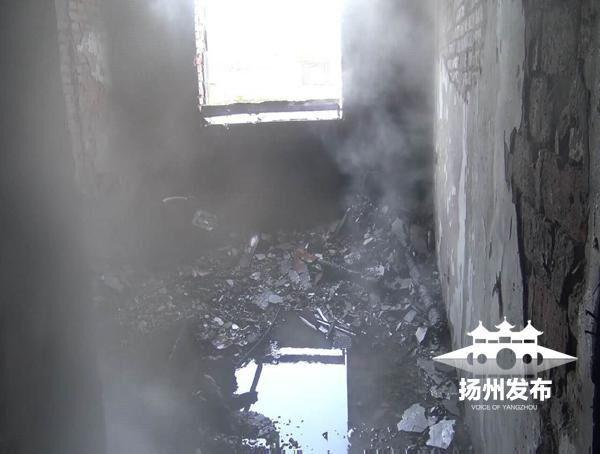 儿子冲入火场救瘫痪父亲 父子俩双双遇难