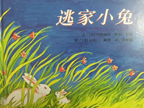 绘本 逃家小兔 风车草