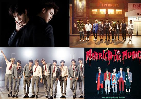 SM发布2016年5大新项目 将推大型新人男团NCT