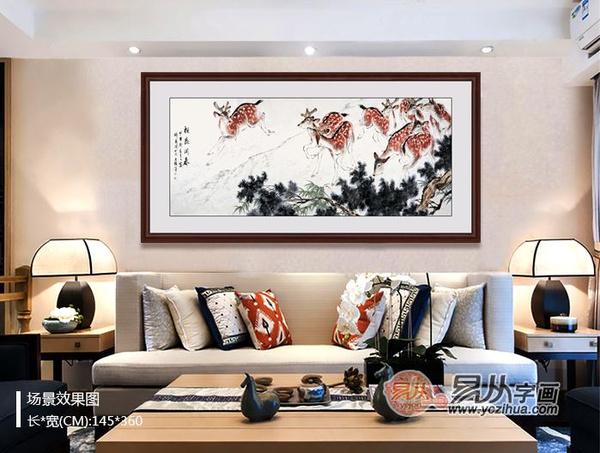 2016猴年客厅宜挂什么画