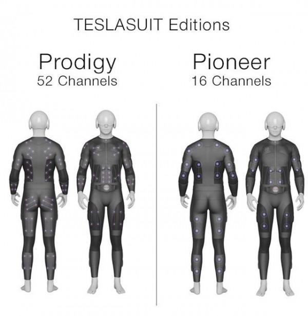 这款名为Teslasuit的智能紧身开发已有三年之久,它是全球首款全身触觉紧身衣。它配置了多个传感器,为全身创建了多个感触点,可以让我们感受到虚拟现实游戏的场景<b