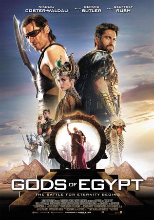 《埃及众神》英文版海报