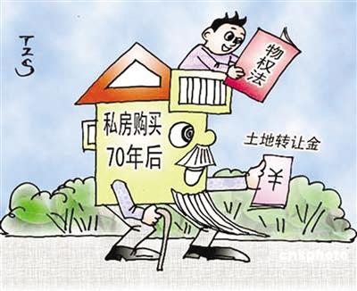 70年使用权_媒体新闻滚动_搜狐资讯    土地使用权和房屋所有权的区别在于:房屋